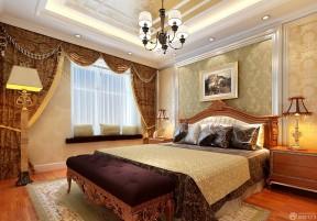 家裝背景墻 歐式臥室設計效果圖
