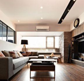 130平米簡單客廳裝修設計圖-每日推薦