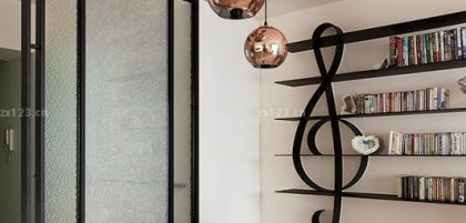 简约现代风格家装餐厅装修设计效果图