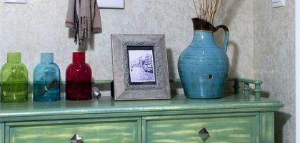 玄关柜软装饰品图片