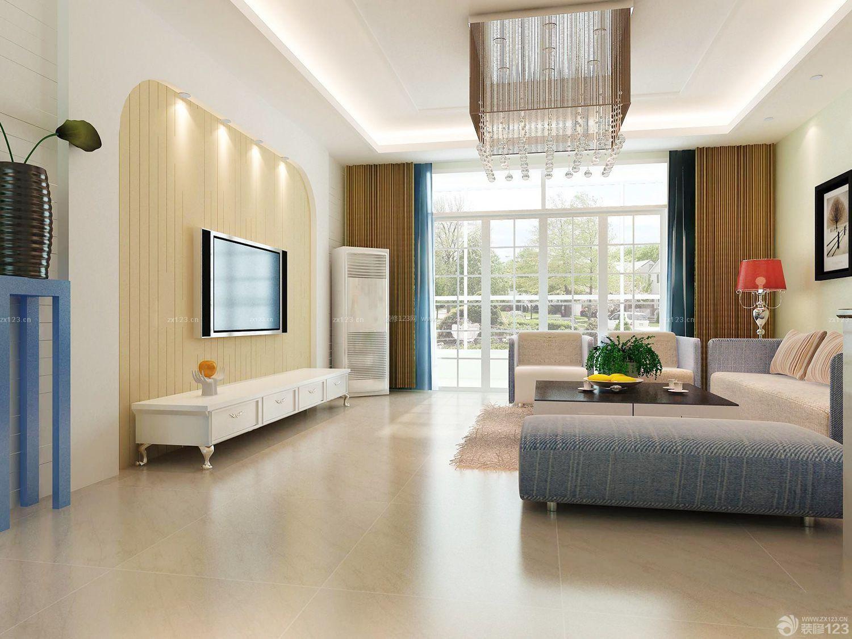 简约设计风格80平方房子客厅装修图片