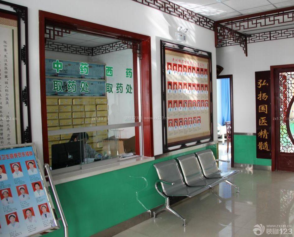 中医医院过道吊顶装修效果图片欣赏
