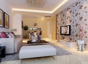 80平方房子裝修圖片 家庭客廳裝修