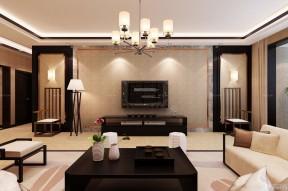 80平方房子装修效果图 电视墙装修