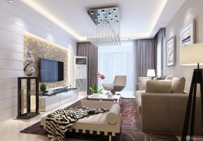 80平方房子装修效果图 小户型客厅装修效果图