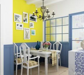80平方房子装修效果图 地中海餐厅