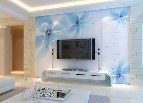 80平方房子装修效果图 简约电视背景墙
