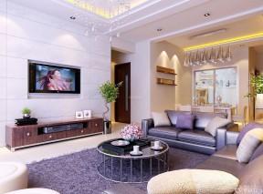 80平方房子装修效果图 简欧式沙发