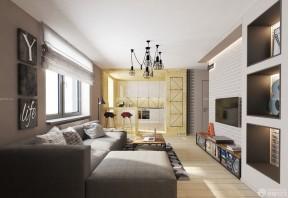 小戶型客廳裝修效果圖 客廳窗戶裝修效果圖