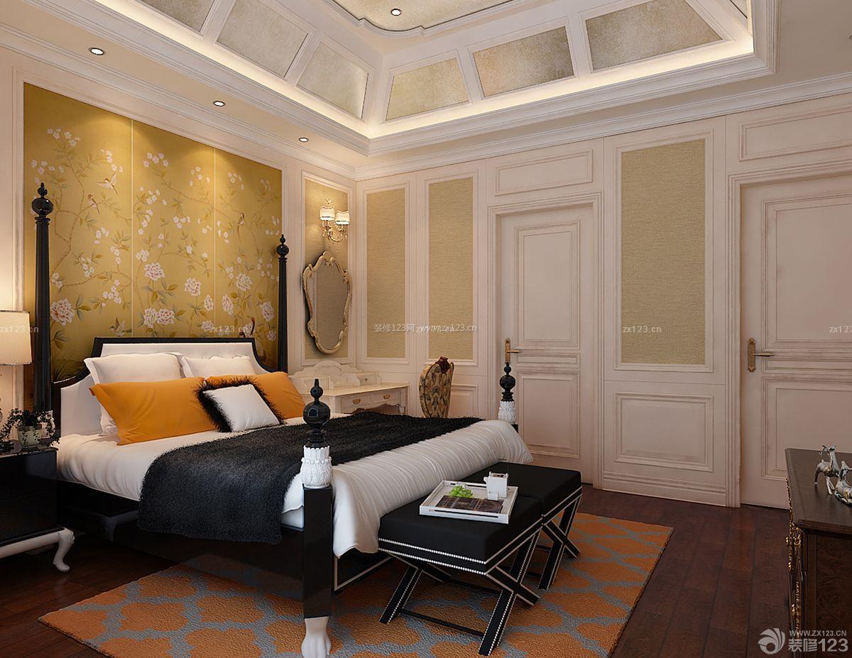 80平米房子卧室吊顶装修设计图