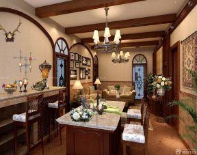 80平米房子裝修設計圖 美式家居風格