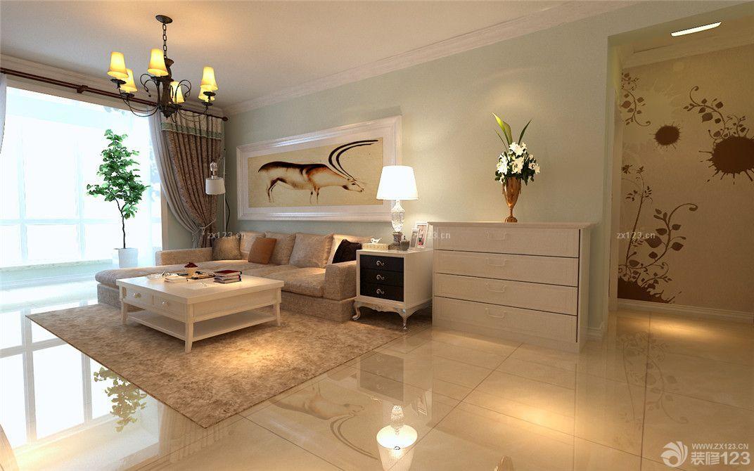 2016房子客厅转角沙发装修图片大全
