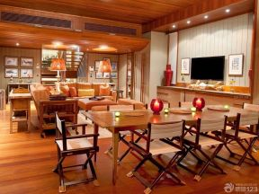 150平方米房子裝修效果圖 餐桌椅子裝修效果圖片