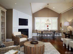 150平方米房子裝修效果圖 木質茶幾裝修效果圖片