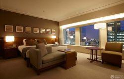簡單賓館套房落地燈裝修效果圖片