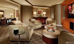 賓館套房單人沙發裝修效果圖片