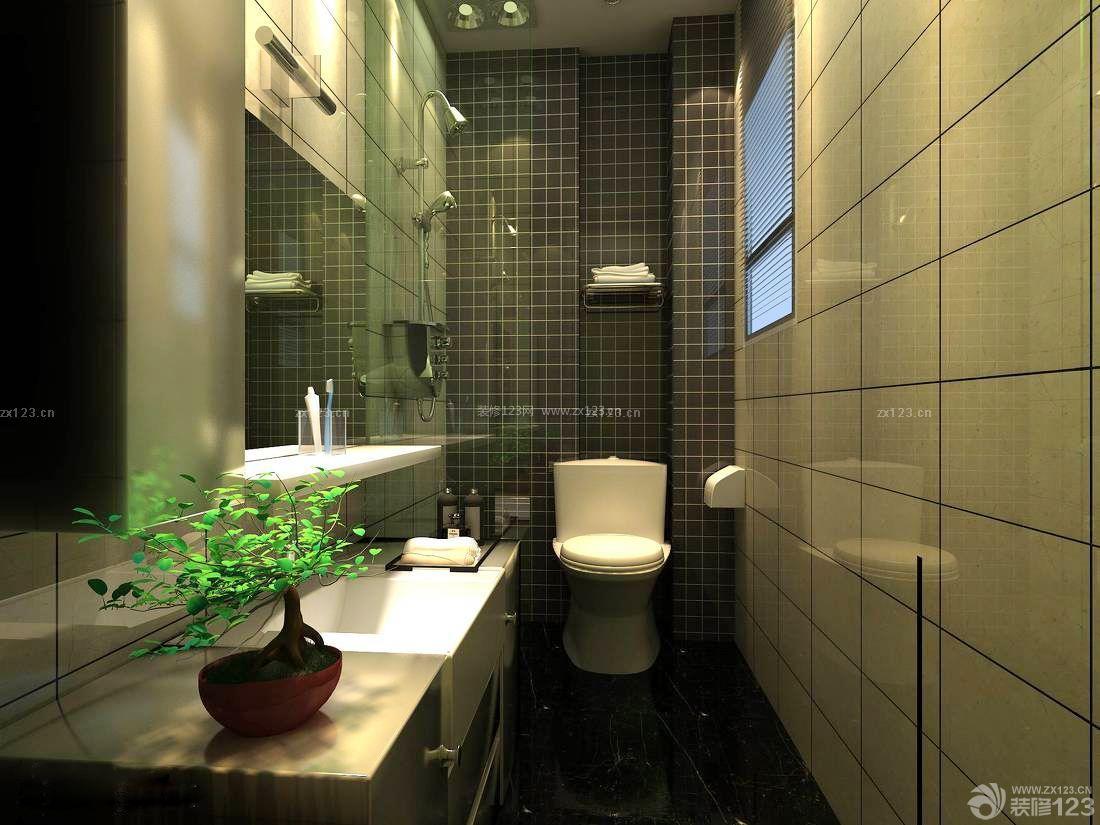 90平方房子卫生间墙砖装修效果图