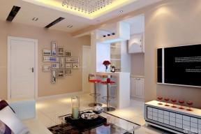 80平方的房子装修图 吧台设计效果图