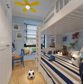 80平方的房子装修图 儿童卧室装修效果图
