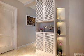 80平方的房子装修图 现代鞋柜装修效果图
