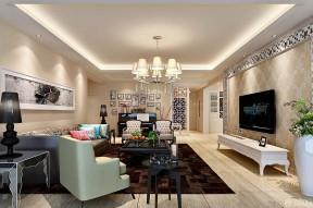 客廳影視墻 簡約時尚客廳裝修