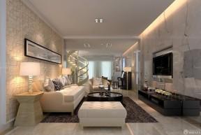 客廳影視墻 小戶型別墅圖片