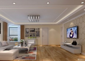 客廳影視墻 簡單客廳裝修效果圖