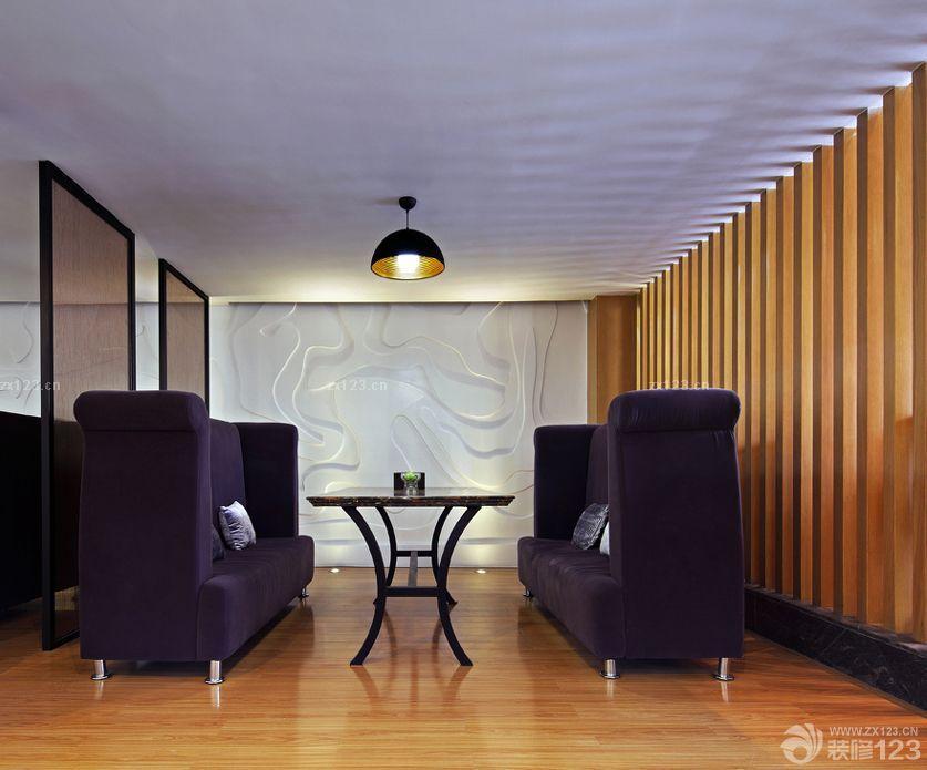 180平米办公室室内落地窗装修效果图片