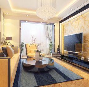 90平米兩室兩廳房子小客廳裝修效果圖-每日推薦