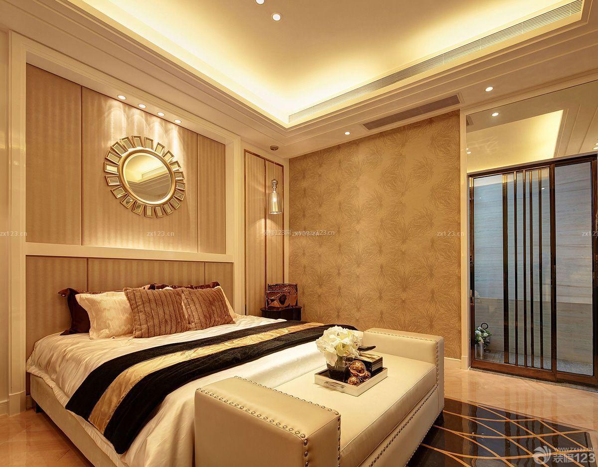 房子卧室吊顶装修设计图片大全100平米