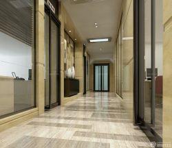 某公司辦公室走廊設計效果圖