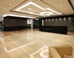 大型公司辦公室走廊設計效果圖