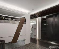小型公司辦公室走廊設計效果圖圖片