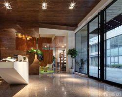 小型公司辦公室走廊設計效果圖片