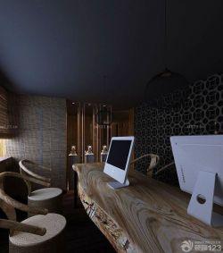 小型辦公室混搭風格室內裝潢設計效果圖片