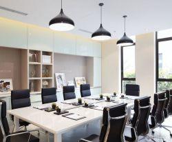小型辦公室簡約吊燈裝潢效果圖圖片