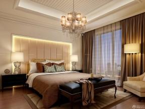 60平米兩室一廳小戶型裝修效果圖 咖啡色窗簾裝修效果圖片
