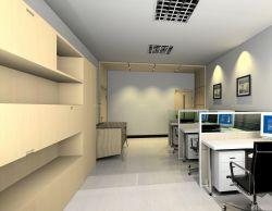 小型公司辦公室書柜裝飾設計效果圖片