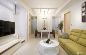 70-80平方小戶型裝修 長方形客廳裝修效果圖片