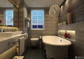 房子装修设计图片大全90平 浴室装修图片