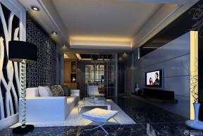 60平米兩室兩廳裝修 落地燈裝修效果圖片