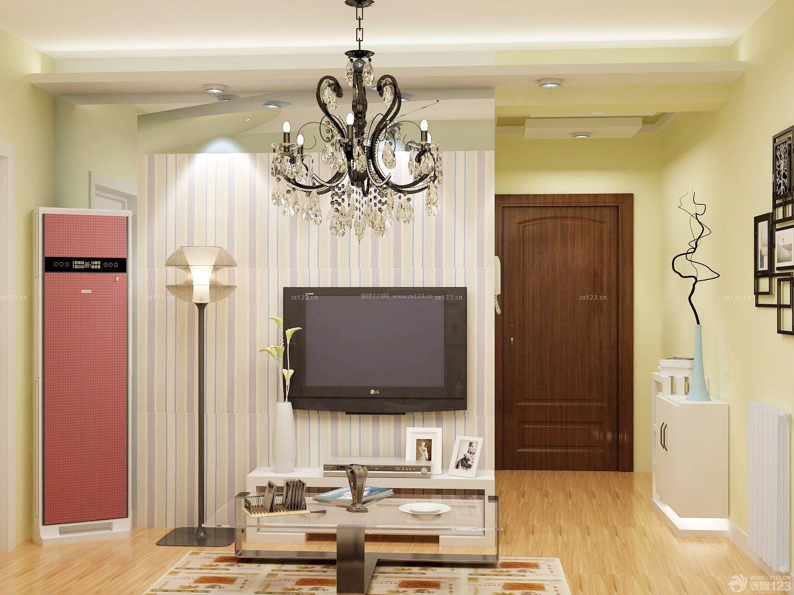 交换空间50平超小户型客厅装修效果图