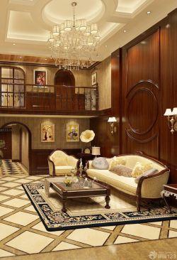 现代美式风格130平米房子装修设计效果图片大全