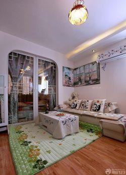 60平方一室一厅小户型家装客厅装饰图