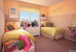 90平兩室兩廳美式臥室設計圖