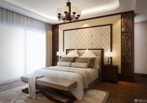 90平兩室兩廳設計圖 中式臥室
