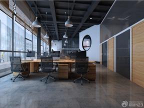 簡單辦公室設計效果圖 吊頂設計裝修效果圖片