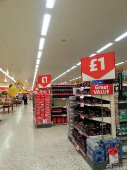 超市装修现代吊顶效果图