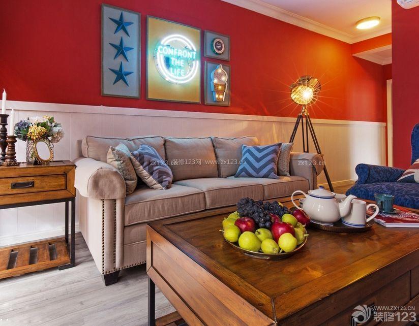 80平米小户型两室一厅客厅装修效果图大全图片