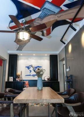 90平方兩室兩廳裝修效果圖 吊扇燈